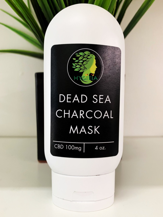 100mg CBD Dead Sea Charcoal Mask